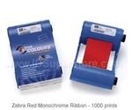Zebra монохромная красная лента Red 800015-902