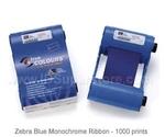 Zebra монохромная синяя лента Blue 800015-904