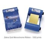 Zebra монохромная золотая лента Gold 800015-906