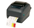 Принтер этикеток, штрих-кодов Zebra GX430t Ethernet, 64MB Flash, RTC, отделитель, рег.датчик чёрной метки (GX43-102421-150)