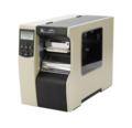 Принтер этикеток, штрих-кодов Zebra 110Xi4 203dpi + нож и накопитель, двойная дверца (112-80E-00073)